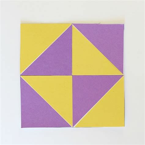 geometry  kids quilt activity  triangles