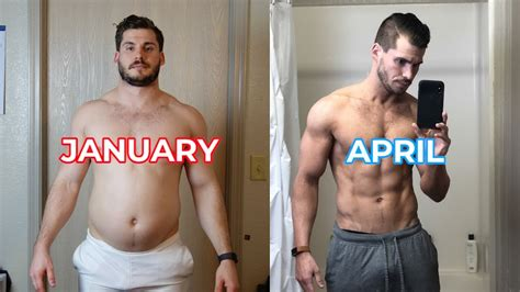 my 3 month transformation time lapse 202lbs 160lbs