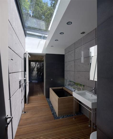 vaulted ceiling lighting solutions six stunning uses of skylights in bathrooms
