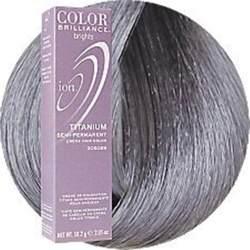 ion color titanium ion hair color titanium hair dye swatches charts