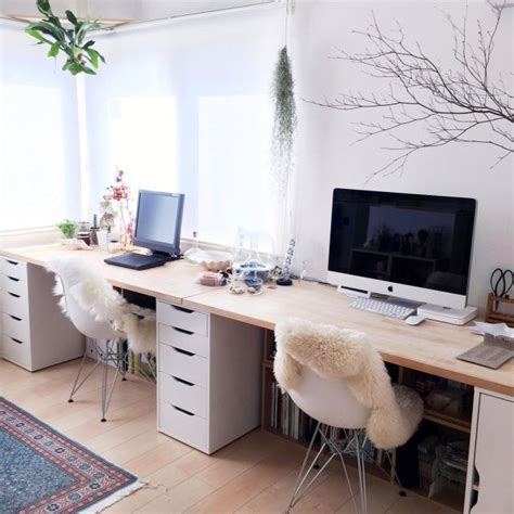 Ikea De Arbeitszimmer by Ikea Alex Desk I Like The Drawers Here And The Chairs