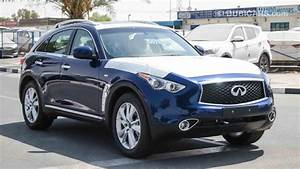 Infiniti QX70 for sale: AED 150,000. Blue, 2018