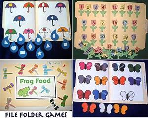 file folder games With free file folder game templates