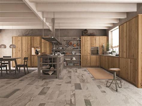 scandola cucine cucina in abete ardesia con penisola maestrale 03