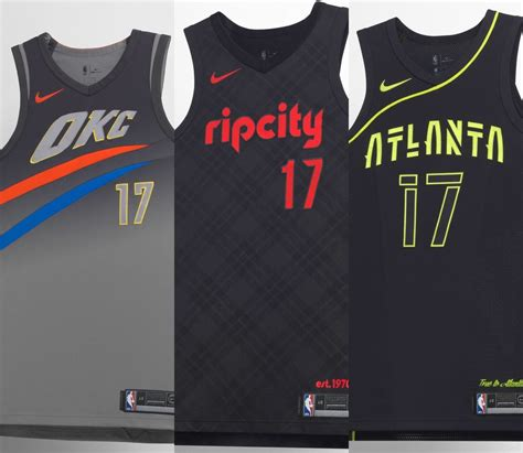 A look at every NBA team's new Nike 'City' alternate ...