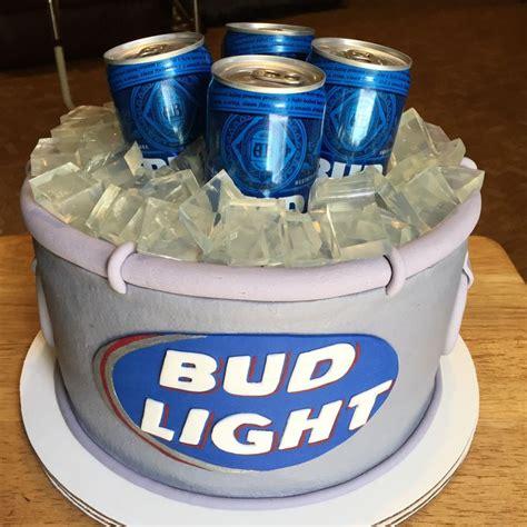 bud light cake ideas  pinterest  birthday