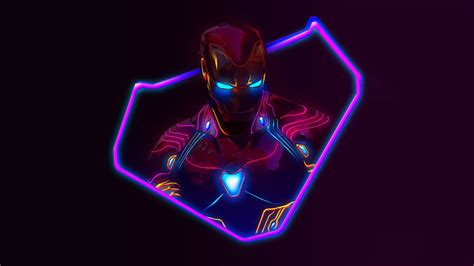 neon avengers desktop wallpapers avengers neon wallpaper