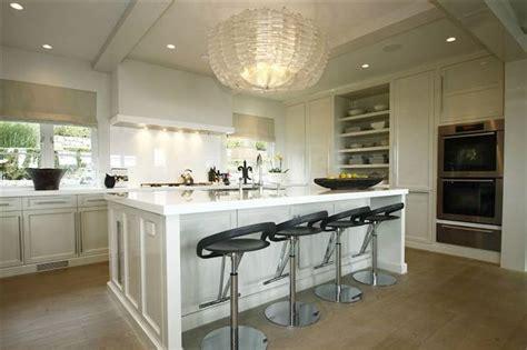 kitchen island chandelier transitional kitchen