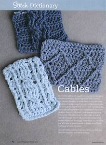 Crochet Cable Stitches  U22c6 Crochet Kingdom