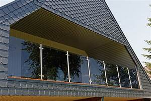 Glas Balkongeländer Rahmenlos : balkongel nder mit glas komplette baus tze gel ~ Frokenaadalensverden.com Haus und Dekorationen