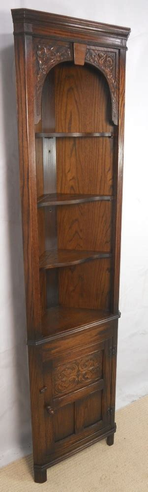 antique cabinets for kitchen narrow oak corner cabinet by jaycee sold for the 4081