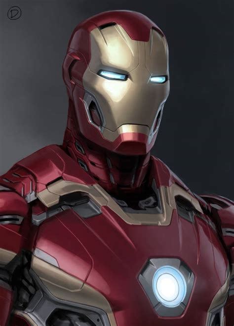 alternate unused art surfaces  mark  iron man