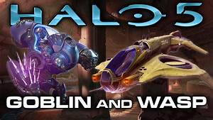 "Halo 5 - New UNSC Air Vehicle ""Wasp"" and Warzone Boss ..."