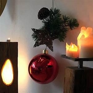 Große Weihnachtskugeln Für Außenbereich : gro e weihnachtskugel christbaumkugel rot gl nzend 25 cm durchmesser hochwertig f r innen und ~ Eleganceandgraceweddings.com Haus und Dekorationen
