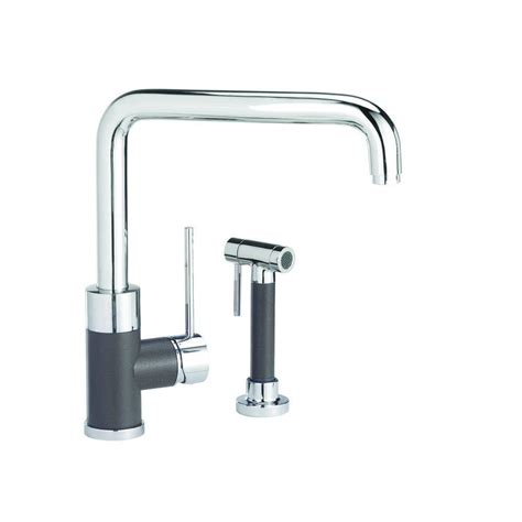 foot pedal faucet home depot grohe k7 medium single handle pull sprayer kitchen