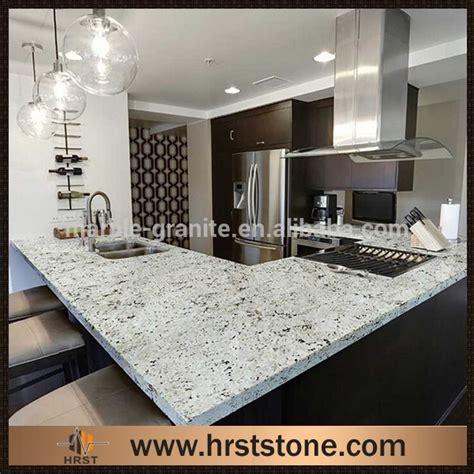Imitation Granite Countertops by Imitation Snowfall Granite Kitchen Countertops View
