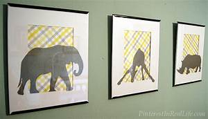 Diy nursery decor safari wall art in real life