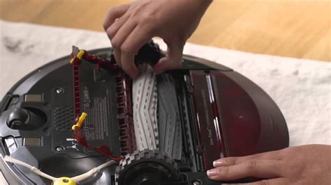 How to clean Roomba 980 vacuum filter and bin - YouTube