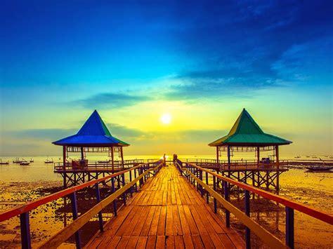 pantai ria kenjeran pantai   semakin indah