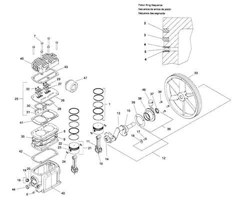 ingersoll rand air compressor parts diagram automotive