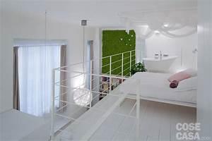 50 + 17 mq: un piccolo loft total white Cose di Casa