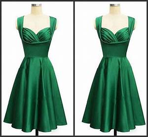 Gorgeous 2017 Style Emerald Green Knee Length Cocktail Or ...