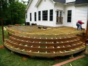 porch building plans 5 considerations for building a wood deck