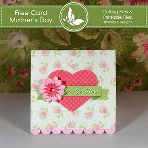 Free Making Card Kit – Mother's Day | Shery K Designs
