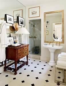 Salle de bain rétro: idées comment la décorer