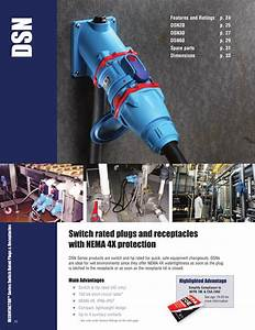 Meltric Dsn Decontactor Plugs And Receptacles Brochure