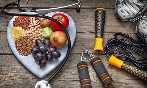 Comer saludable y hacer ejercicios, dos factores ...