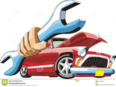 Automobile Repair Clipart