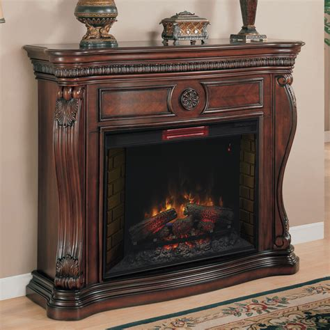 lexington   infrared empire cherry electric fireplace