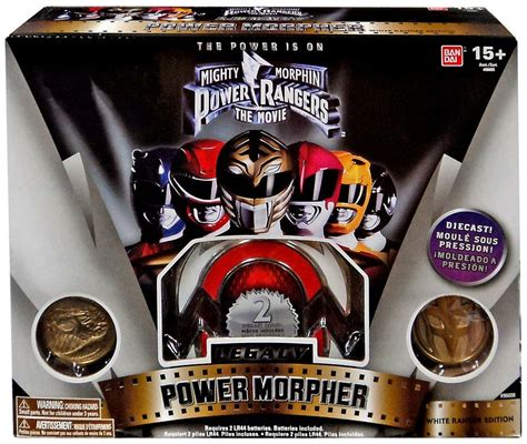 Power Rangers Mighty Morphin Legacy White Ranger Power ...