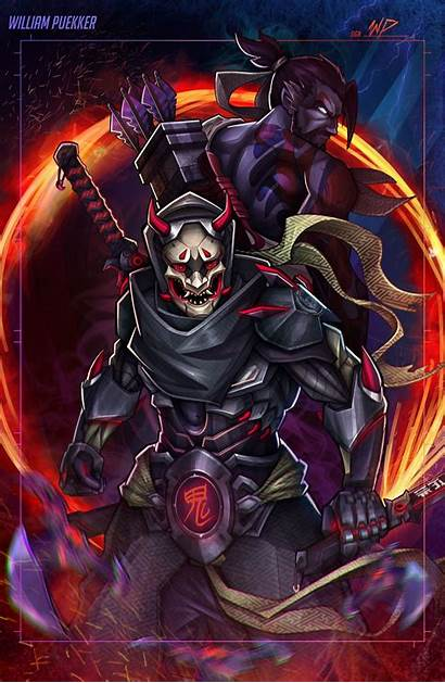 Oni Mask Wallpapers Background2 2588 William Wallpaperplay
