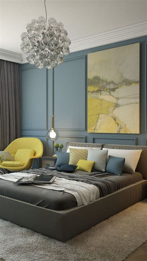 Gray And Yellow Bedroom Ideas by Best 25 Blue Yellow Bedrooms Ideas On Blue