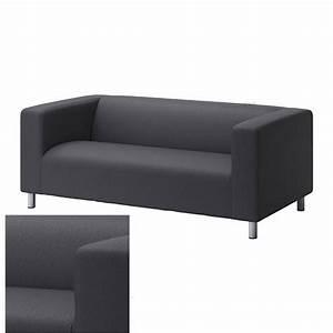 Ikea Sofa Bezug Klippan : ikea klippan loveseat sofa slipcover cover vissle gray grey ~ Markanthonyermac.com Haus und Dekorationen