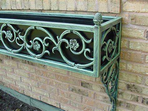 window box   detail   window box  cast iron