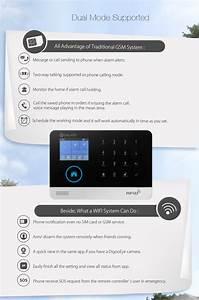 Smart Home Wlan : digoo dg hosa wireless gsm wifi 3g diy smart home security alarm systems kits infrared motion ~ Markanthonyermac.com Haus und Dekorationen