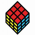 Rubik Icon Cube Icons Toy Puzzle Square