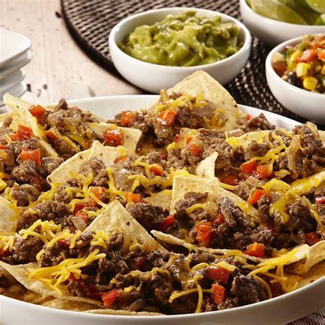 nachos supreme recipe nachos grande supreme mccormick