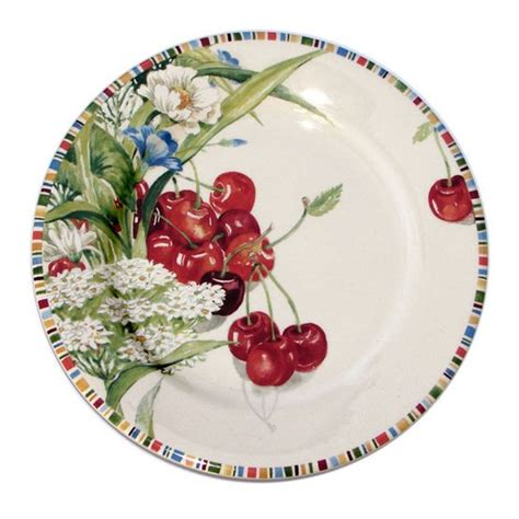 gien cherry dinnerware artedonacom china pinterest