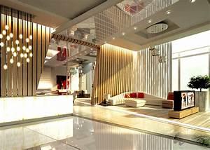 ALYAL Hotel Lobby Design on Behance