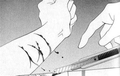 Anime Tumblr Black And White Alone