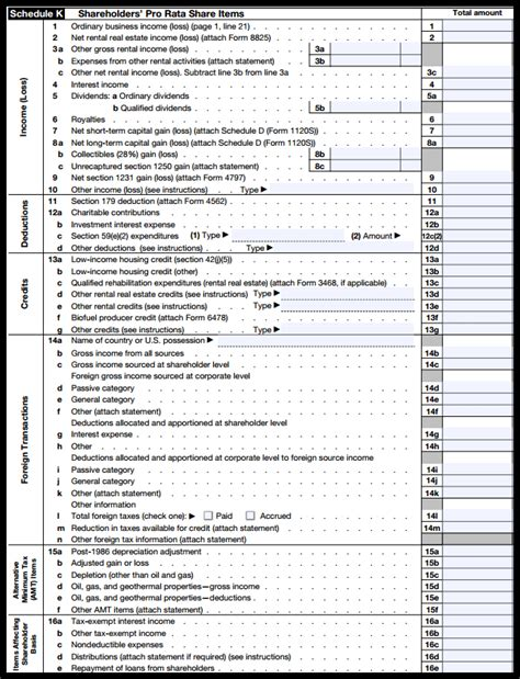 irs form 1120s definition filing
