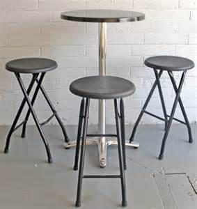 outdoor bar tables plastic tops aluminum bases