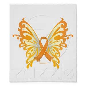 Childhood Cancer Ribbon Butterfly