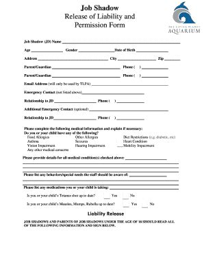 tlpa template 32 printable release of responsibility form templates