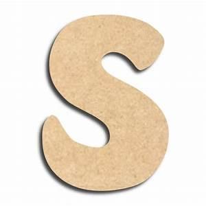 Lettre En Bois A Peindre : lettre en bois peindre s minuscule lettre bois ~ Dailycaller-alerts.com Idées de Décoration