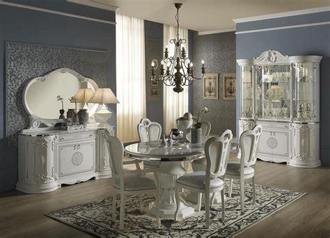 Silber Wohnzimmer by Wohnzimmertisch Tisch Rund Great Weiss Silber Italienische